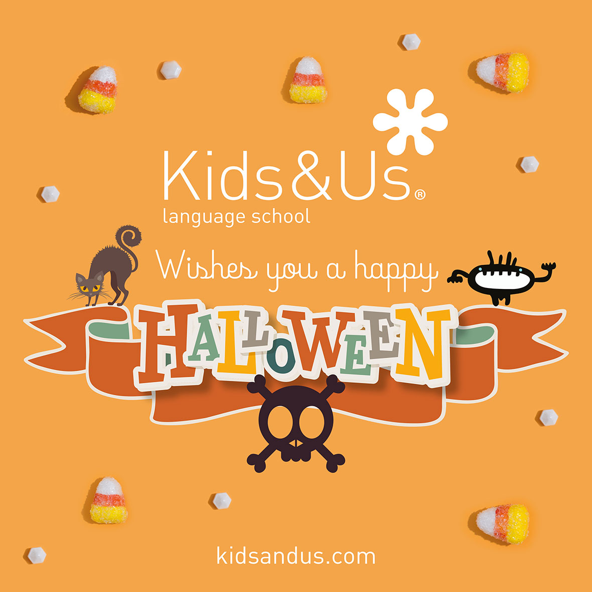 Halloween Party en Kids&Us El Retiro